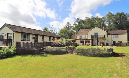 The Rock - Self Catering accommodation in the Forest of Dean near Symonds Yat