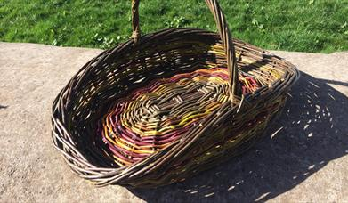 WEAVE A WILLOW GARDEN TRUG at Humble by Nature