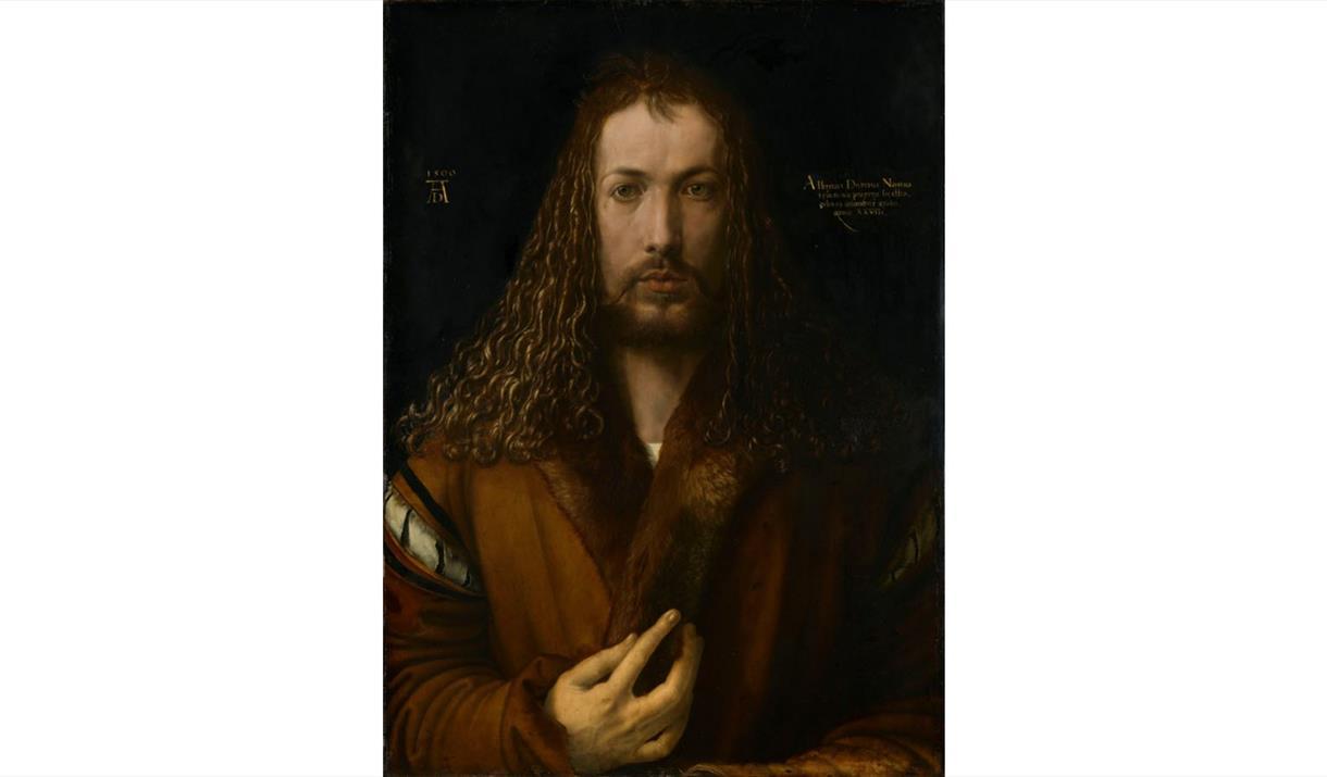 Albrecht_Dürer 1500 self-portrait Alte Pinakothek, Munich