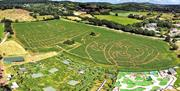 A photo of all of the 2021 Mazes by Skydronauts UK