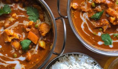 South Indian Takeaway Specials at Harts Barn Cookery School