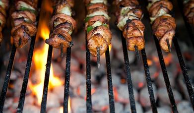 Gourmet BBQ Cooking at Harts Barn Cookery School