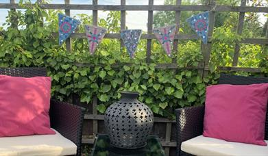 Mosaic Bunting for your Garden