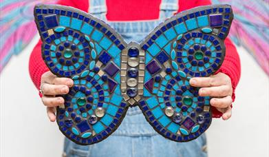 Mosaic Butterfly for your Garden