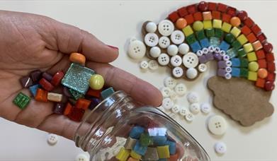 Family Mosaic Making
