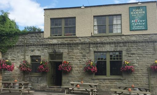 The Forge Hammer pub at Lower Lydbrook
