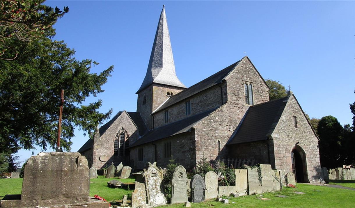 St Teilo's Church in Llantilio Crossenny