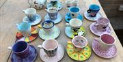 Afternoon Tea Pottery Painting