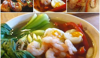 JAPANESE COOKERY CLASSES at Harts Barn Cookery School