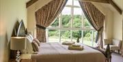 Lodge Barn - large, comfortable bedroom