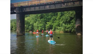 SUP River Adventure