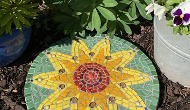 Mosaic Stepping Stone Workshop