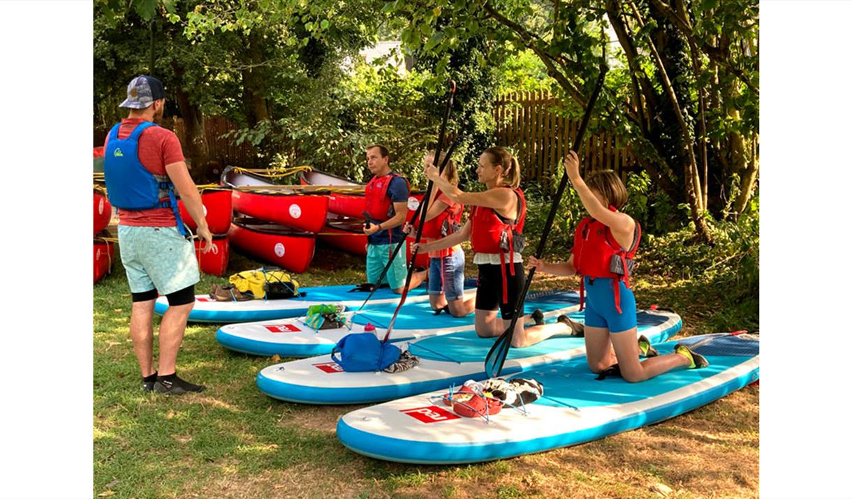 SUP Skills at Paddleboarding Adventures