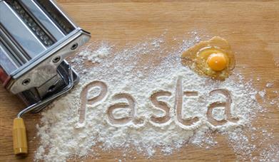 PASTA MAKING at Harts Barn Cookery School