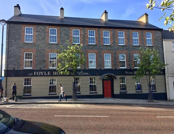 The Foyle Hotel Wine Bar & Eatery by Chef Brian McDermott, Moville, Co.Donegal