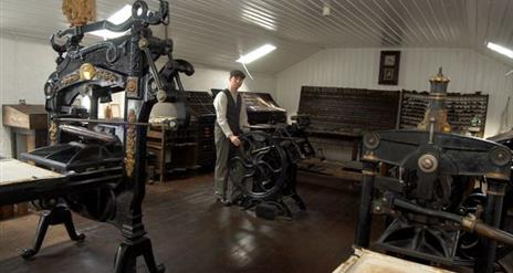 Gray's Printing Press for EHOD 2021