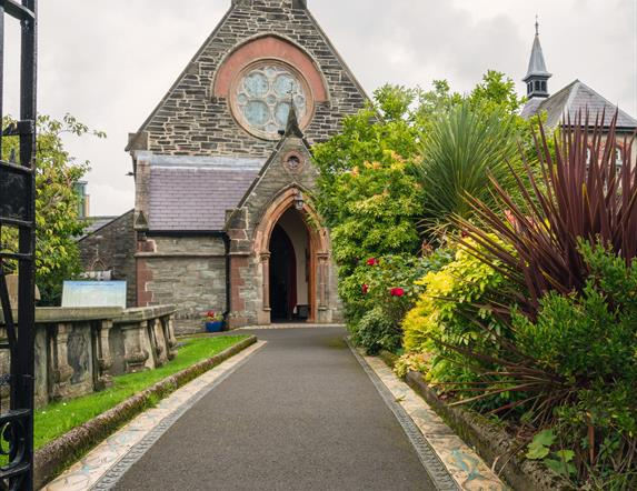 Then entrance to St Augustine's Church.