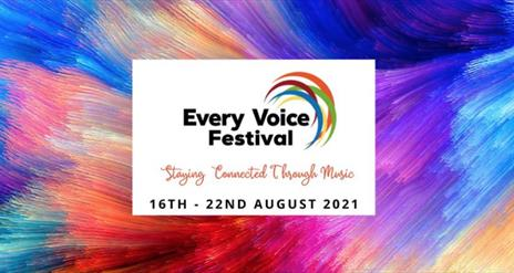 This is an advertisement for Allegri's Every Voice Festival