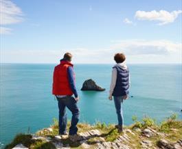 Cliff Top View| Devon Cliffs