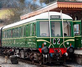 bubble car at south devon railway