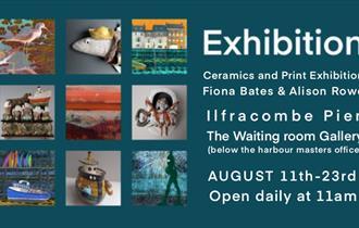 Exhibition of Ceramics and Prints