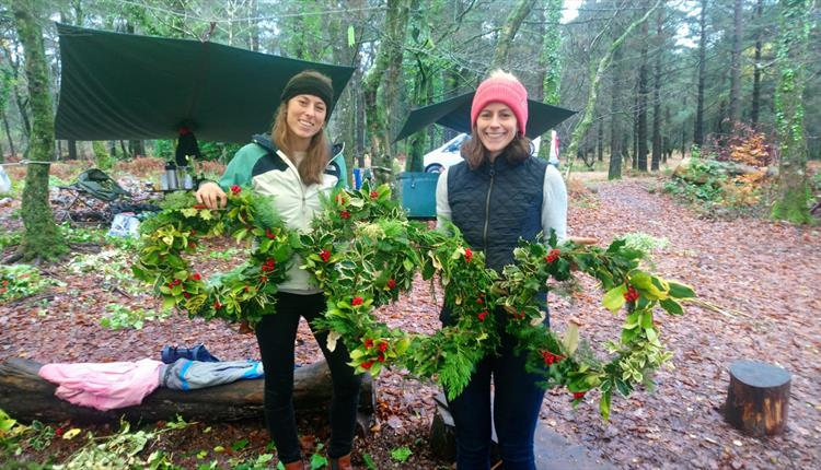 Wreath Making with A Touch of the Wild