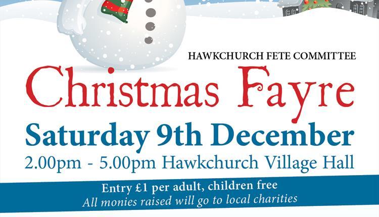 Hawkcurch Christmas Fayre