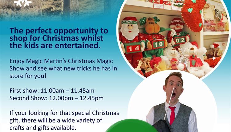 Christmas Craft Fair Featuring Magic Martin?