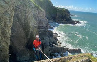 Guided Sea Cliff Climbing - North Devon