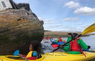 Half Day Sea Kayaking Trip