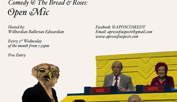 Comedy @ The Bread and Roses