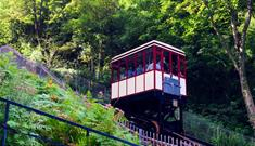 cliff railway carriage