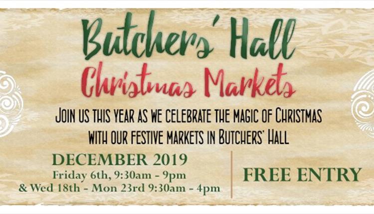 Butchers Hall Christmas Markets