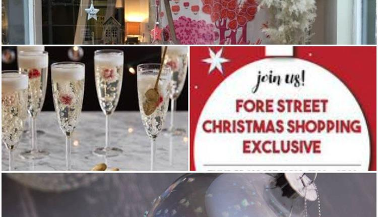 Baubles and Bubbles Christmas Preview Evening