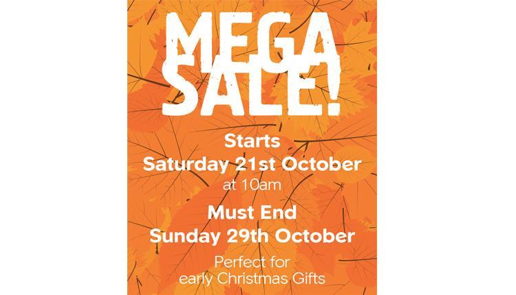 Mega Sale at Dartington Crystal