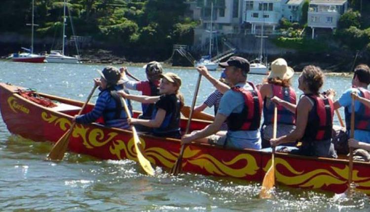 Sharpham Family Canoe Adventure