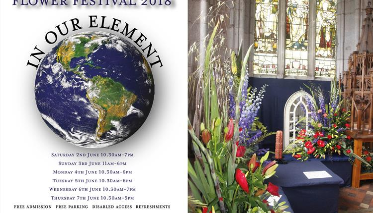 Flower Festival 2018 'In Our Element'
