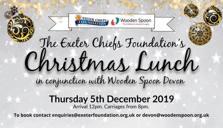 Exeter Chiefs Foundation Christmas Lunch