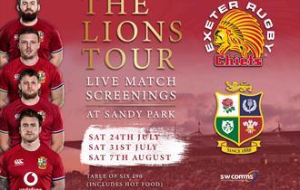 Lions Tour Live Screenings