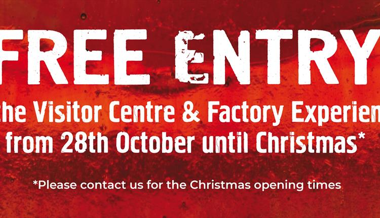 FREE ENTRY up until Christmas