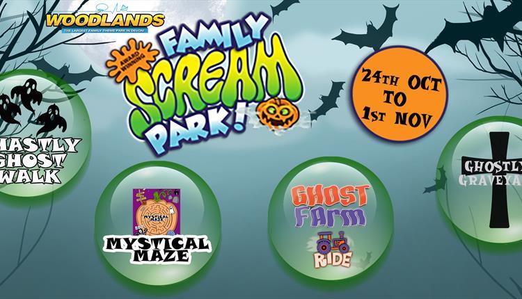 Halloscream at Woodlands Family Theme Park
