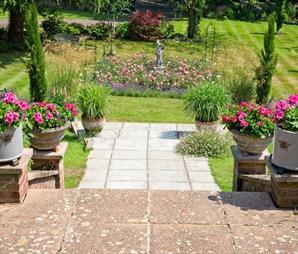 Open Garden Hillside Sidmouth