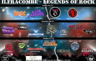Ilfracombe - Legends of Rock