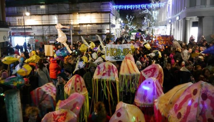 Newton Abbot Lantern Parade