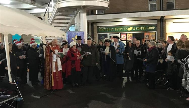 Newton Abbot Mayors Carol Service