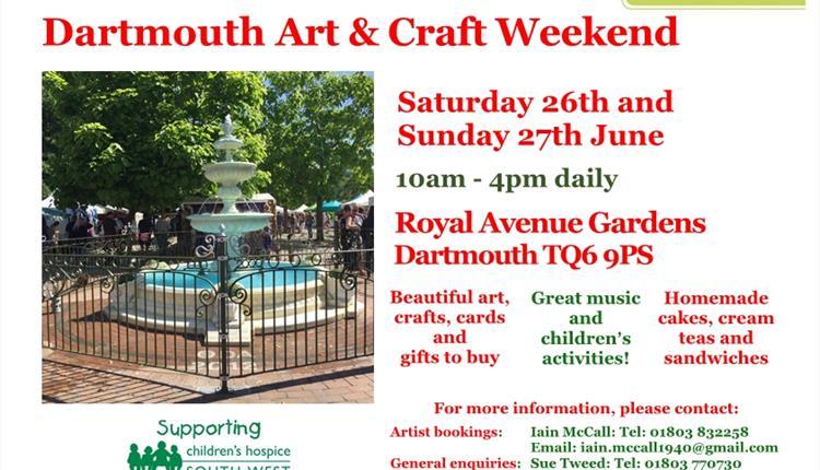 Dartmouth Art & Craft Weekend