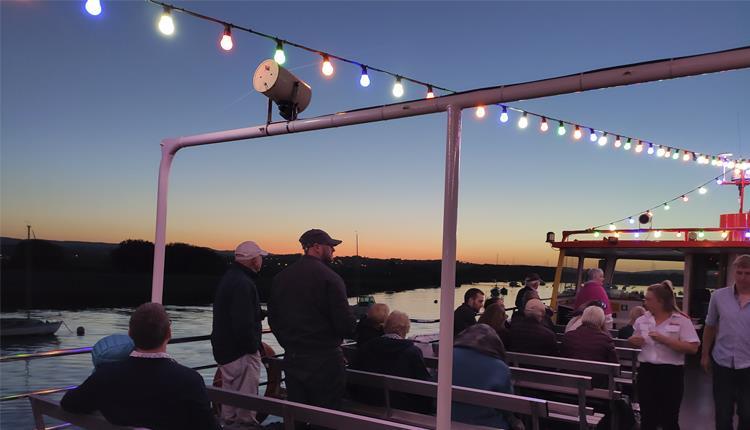 stuart line cruises sunset
