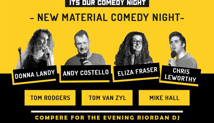 Stand Up and Shout comedy evening