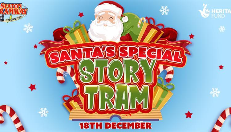 Santa's Special Story Tram