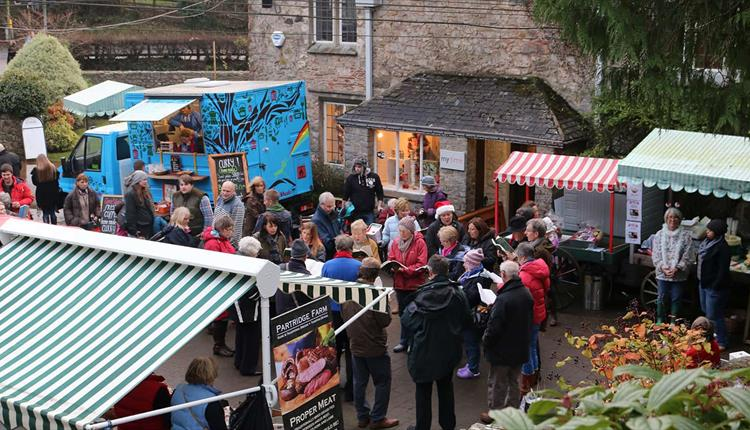 Christmas fair at The Shops at Dartington